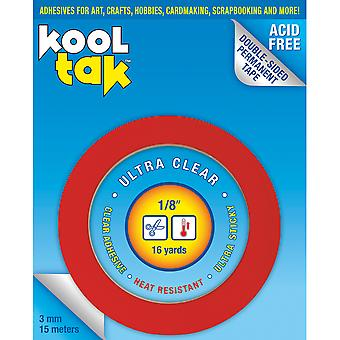 Kool Tak Ultra Clear Tape .125