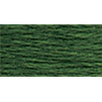Dmc Tapestry & Embroidery Wool 8.8 Yards Dark Moss Green 486 7385