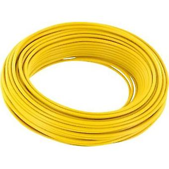 BELI-BECO L118/10 gelb, Single Core Wiring Cable, , AWG, Yellow Sheath