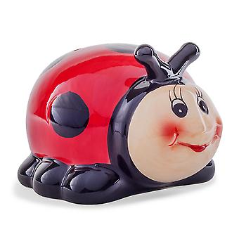 Idea regalo coccinella in ceramica Money Box bambini