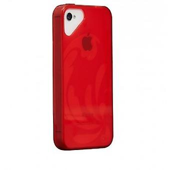OLO glacier snap on case iPhone 5 / 5S Red