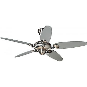 "Ceiling Fan ALCHEMY 137 cm / 54"" brushed chrome"
