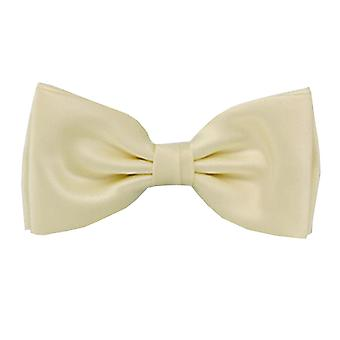 Frédéric Thomass fly loop bow tie tied cream Ecru basic polyester hook closure
