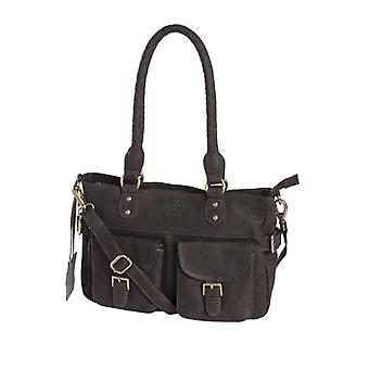 Dr Amsterdam Hand/shoulder bag Olive Licorice