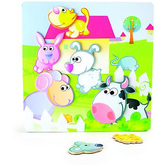 Legler Magnetic Puzzle Farm (Toys , Preschool , Puzzles And Blocs)