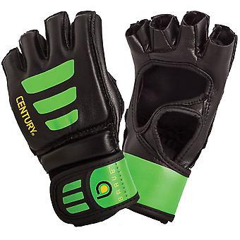 Jahrhundert Jugend mutig offenen Handfläche MMA Tasche Trainingshandschuhe - schwarz/grün