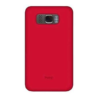 OEM HTC Silicone Case for HTC HD2 - Raspberry