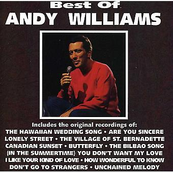 Andy Williams - bedste af Andy Williams [CD] USA import