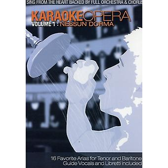 Karaoke Opera - Karaoke Opera: Vol. 1-Nessun Dorma [DVD] USA import