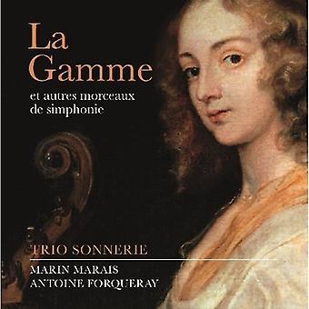 Marais/Forqueray - La Gamme Et Autres Morceaux De Simphonie [CD] USA import