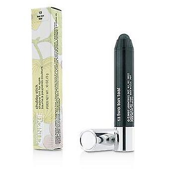 Clinique Chubby Stick Shadow Tint for Eyes - # 13 Two Ton Teal - 3g/0.1oz