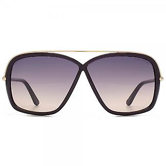 Tom Ford occhiali da sole Brenda In viola lucido