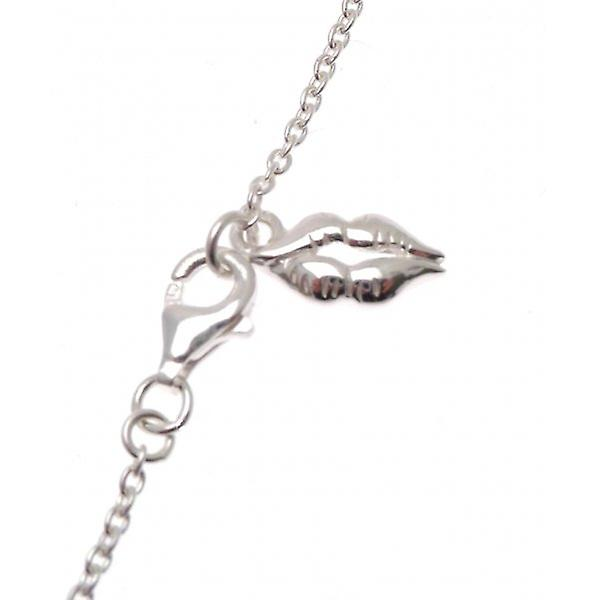W.A.T Sterling Silver Chain 'Amour'  Bracelet