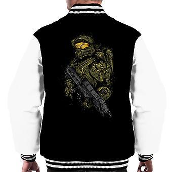 Halo Master Chief mannen Varsity Jacket