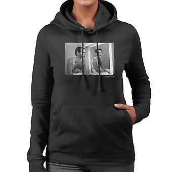 Gary Numan Backstage bei Tube 1984 Damen Sweatshirt mit Kapuze