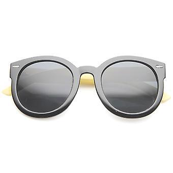 Womens Cat Eye Sunglasses com UV400 protegido lente gradiente