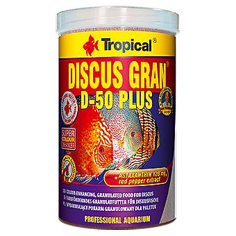 Tropical Discus Gran D-50 Plus 10L (Fish , Food , Warm Water)