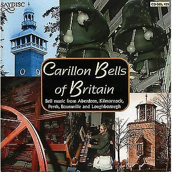 Klokkespil i Storbritannien - Carillon Bells of Britain [CD] USA importerer