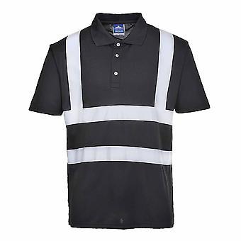 Portwest - イオナ - Vi 安全作業服半袖 Poloshirt