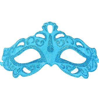 Adults Masquerade Ball Venetian Glitter Eye Mask Halloween Fancy Dress Accessory