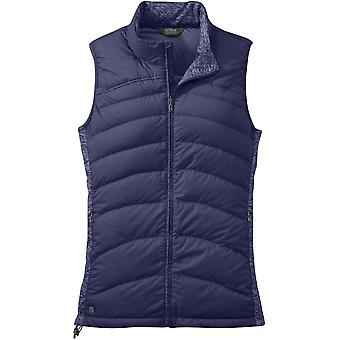 Outdoor Research Womens PLaza Down Vest Blue Violet (UK Size 14)