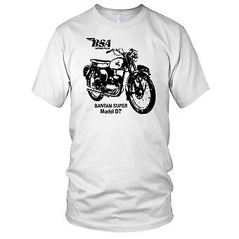BSA Bantam modell D7 klassisk sykkel Kids T skjorte