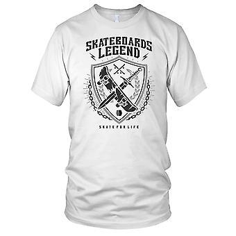 Skateboards Legend Skater Mens T Shirt