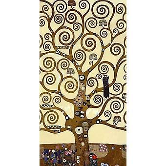Stoclet Frise Poster trykk av Gustav Klimt
