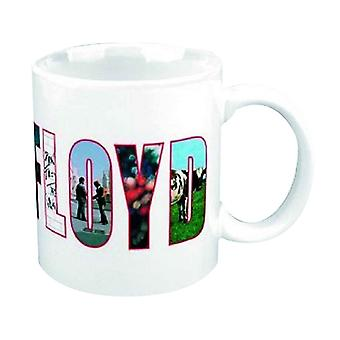 Pink Echoes Mug band logo new official white Boxed