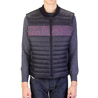 Roberto Cavalli hombres globo chaleco chaqueta negro