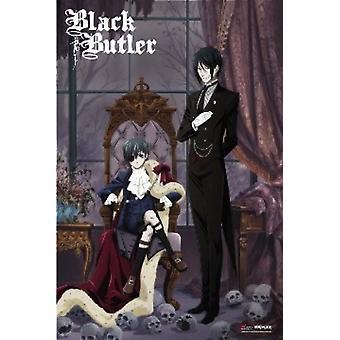 Black Bulter Anime Poster Poster Print