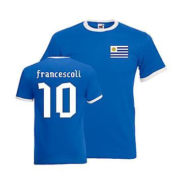 Enzo Francescoli Uruguay Ringer Tee (blue)