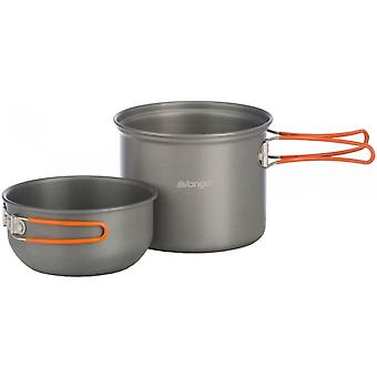 Vango Hard Anodised 1 Person Cook Kit with Bag