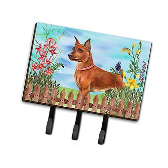 Carolines Treasures  CK1218TH68 Miniature Pinscher Spring Leash or Key Holder