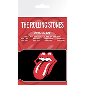 Die Rolling Stones nur Rock And Roll-Kartenhalter