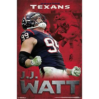 Houston Texans - JJ Watt 2015 Poster drucken
