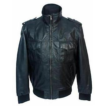 Cabo Mens Leather Jacket