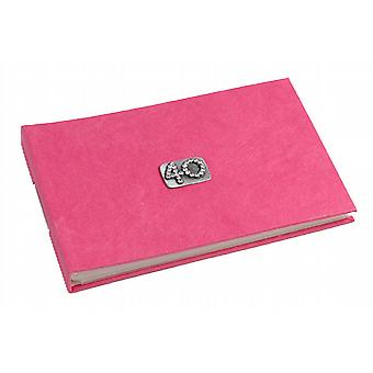 40 Celebration Fushia Pink Pocket Photo Album