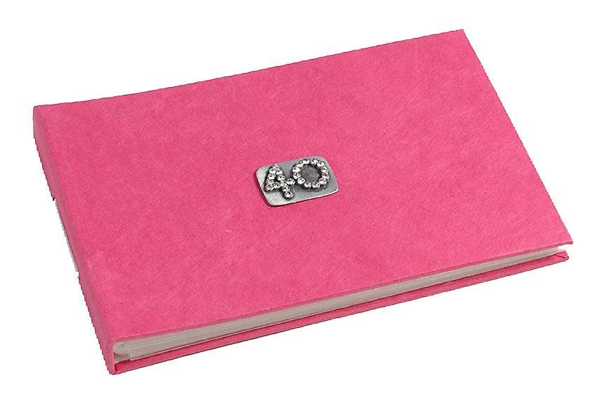 40 Feier Pink Rosa Tasche Photo Album