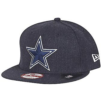 Ny æra Snapback Cap - NFL Dallas Cowboys heather navy