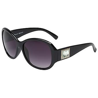 Elegant sunglasses for women by Burgmeister with 100% UV protection | solid polycarbonate frame, high quality sunglasses case, microfiber glasses pouch and 2 years warranty | SBM109-231 Barcelona