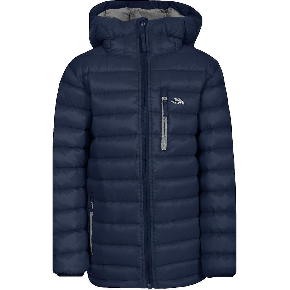 Trespass Girls Morley Ultra Lightweight Packable Down Jacket Coat