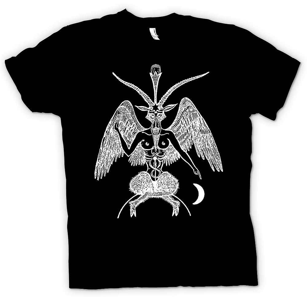 Womens T-shirt - Horned God - Pagan Witchcraft