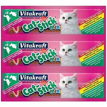 Vitakraft Cat-Stick Mini Duck & Rabbit Cat treat - 20 pack 400g