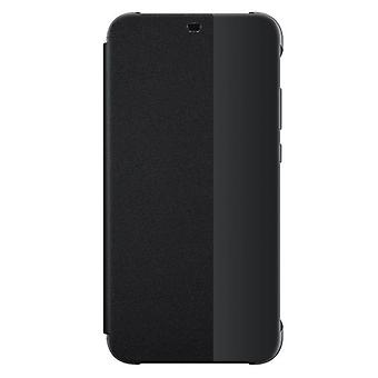 Original Huawei smart view flip cover black for P20 Lite protective case cover pouch bag sleeve case