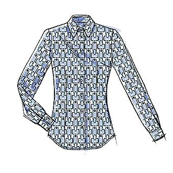 Misses' Blouse-A5 (6-8-10-12-14) -*SEWING PATTERN*