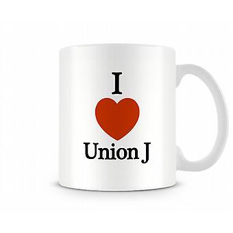 UnionJ imprimé J'aime la tasse