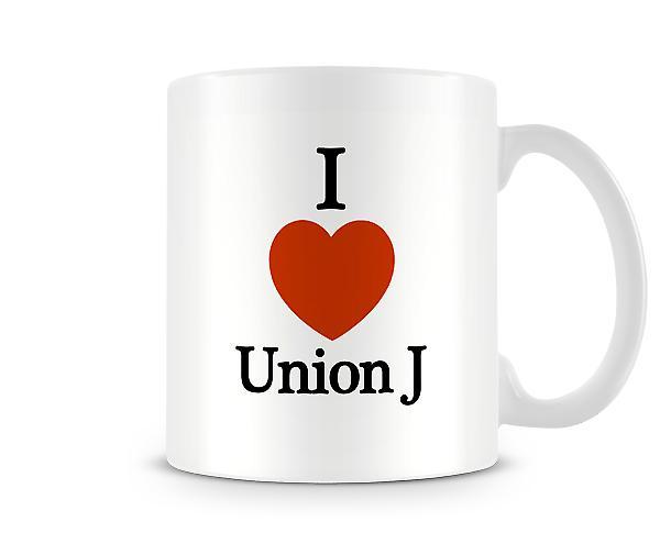Amo la tazza stampata UnionJ