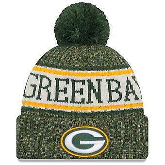 New era NFL sideline 2018 Bobble Hat - Green Bay Packers
