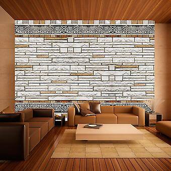 Wallpaper - Stone mosaic